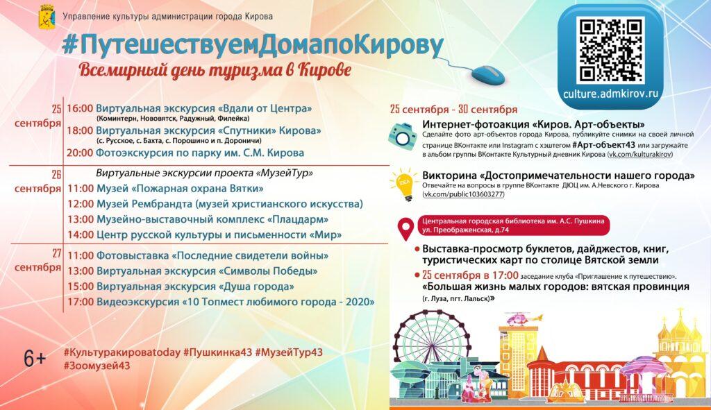 Кировчане будут путешествовать, не выходя из дома